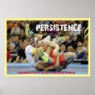 Persitence - Potenial de lucha Póster