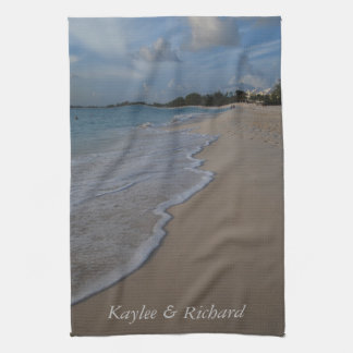 Persoanlized Ocean Beach Hand Towel