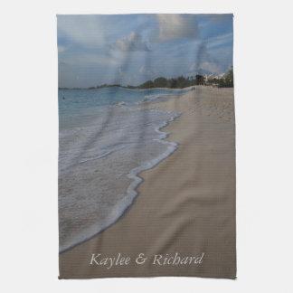 Persoanlized Ocean Beach Kitchen Towels