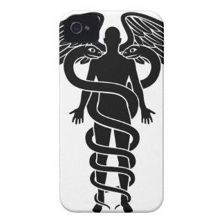 Person Caduceus Concept iPhone 4 Case