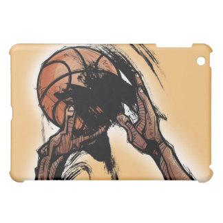 Person holding basketball iPad mini case