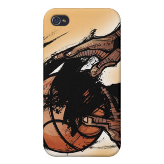 Person holding basketball iPhone 4 cover