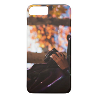 Person holding binoculars outside iPhone 8 plus/7 plus case