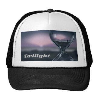 Person In Hourglass During Ocean Twilight Trucker Hat