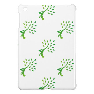 Person in yoga pose forming a healthy tree iPad mini covers