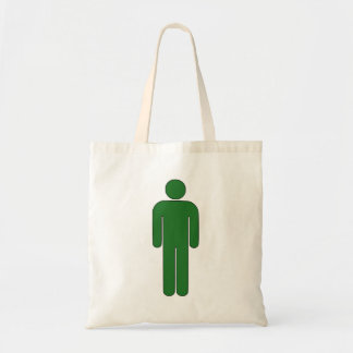 Person Man Sign Universal Silhouette Classic Comic Tote Bag