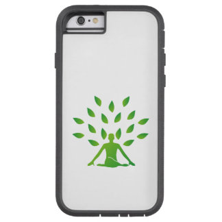 Person meditating under a tree tough xtreme iPhone 6 case
