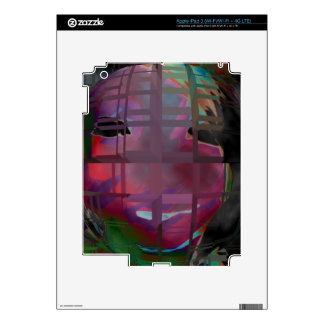 person of interest #3 skin for iPad 3