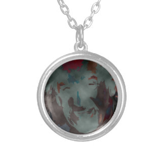 person of interest #7 silver plated necklace