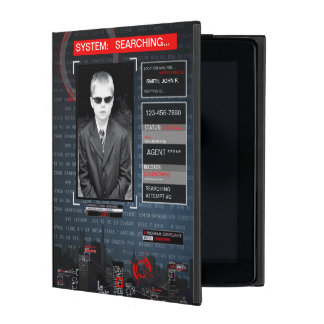 Person of Interest Style iPad Case