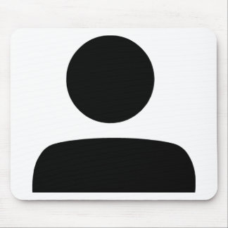 Person Symbol Mouse Pad