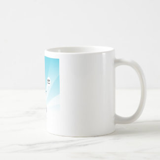Person with Wearable Technology Coffee Mug