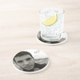 """Persona"" Album Sandstone Drink Coaster"