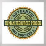 Persona con muchos recursos humana auténtica impresiones