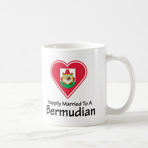 Persona de Bermudas feliz casada Taza Clásica