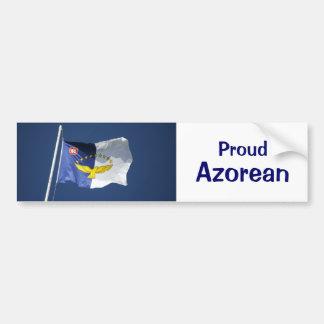 Persona de las Azores orgullosa Pegatina Para Auto