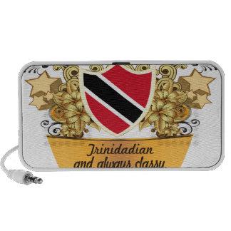 Persona de Trinidad y Tobago con clase Mini Altavoz