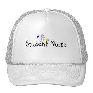 Persona del palillo de la enfermera de estudiante gorras de camionero