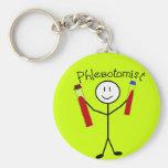Persona del palillo de Phlebotomist Llavero Personalizado