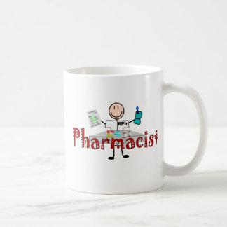 Persona del palillo del farmacéutico--Regalos Taza