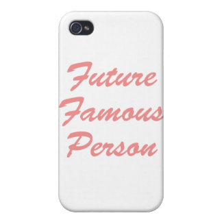 ¡Persona famosa del futuro! iPhone 4 Cárcasas