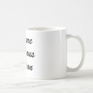 Persona famosa del futuro taza de café