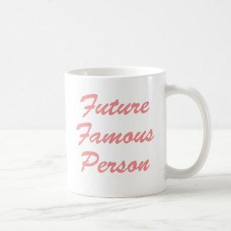 ¡Persona famosa del futuro Tazas