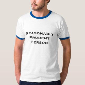 Persona prudente razonable playera