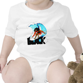 persona que practica surf blackstar trajes de bebé