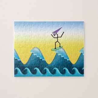 Persona que practica surf de Joe Rompecabeza