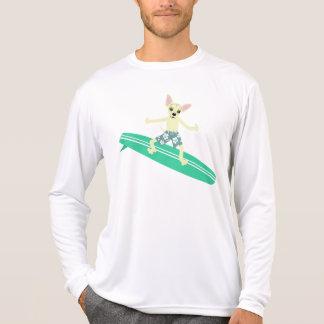 Persona que practica surf de Longboard de la Camisetas