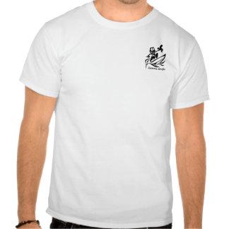 Persona que practica surf de Sammy - pescado indio Camisetas