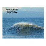 Persona que practica surf de Santa Cruz, Californi