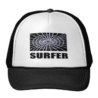 Persona que practica surf de Web Gorros Bordados