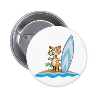 Persona que practica surf del gato pin