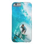 Persona que practica surf funda de iPhone 6 barely there