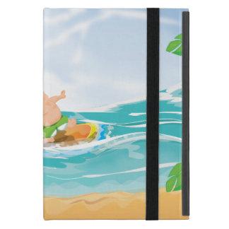 Persona que practica surf iPad mini protectores