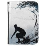 Persona que practica surf grande de la onda