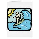 persona que practica surf Joe Tarjeta