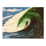 Persona que practica surf que practica surf la pos