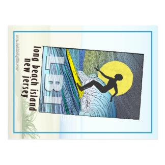 Persona que practica surf… postales
