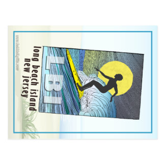 Persona que practica surf… tarjeta postal