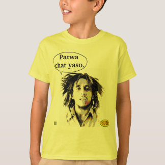 Personage patwa quote T-Shirt