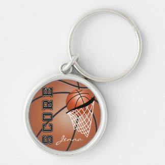 Personailize Basketball Keychain