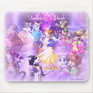 Personaize me Princess Cats Mousepad