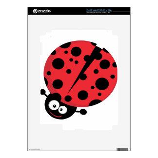 Personaje de dibujos animados de la mariquita iPad 2 skin