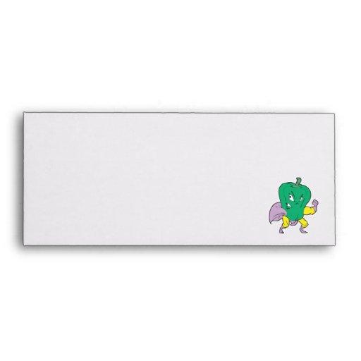 personaje de dibujos animados de la pimienta verde