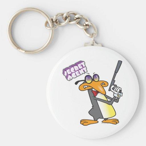 personaje de dibujos animados del pingüino del age llaveros personalizados