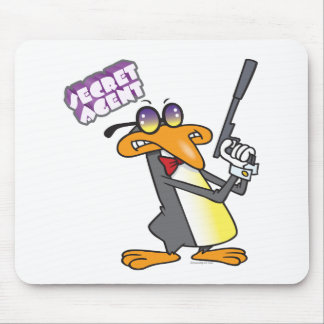 personaje de dibujos animados del pingüino del age alfombrilla de ratón