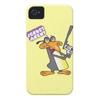 personaje de dibujos animados del pingüino del iPhone 4 Case-Mate carcasas